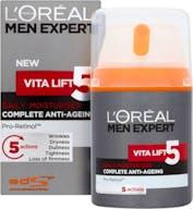 L'Oréal Paris Dagcrème 50 ml Men Expert Vita Lift 5 Anti Veroudering
