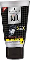 Schwarzkopf Taft Gel 150ml Super Glue Tube
