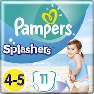 Pampers Splashers Schwimmwindeln Große 4/5 - 11 Stuck