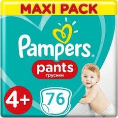 Pampers Baby Dry Pants Maat 4+ - 76 luierbroekjes
