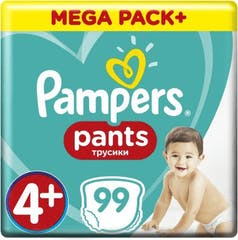 Pampers Baby Dry Pants Maat 4+ - 99 luierbroekjes
