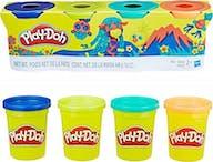 Play-Doh Klei 4 Kleuren Groen/Blauw