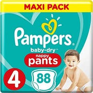 Pampers Baby Dry Pants Maat 4 - 88 Luierbroekjes Voordeelverpakking