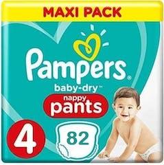 Pampers Baby Dry Pants Maat 4 - 82 Luierbroekjes