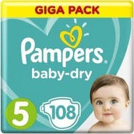 Pampers baby dry grosse 5 108 windeln