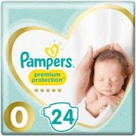 Pampers Premium Protection Windeln Große 0 - 24 Windeln