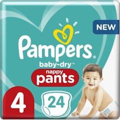 Pampers Baby Dry  Pants Große 4 - 24 Windelhosen