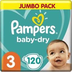 Pampers Baby Dry Gr0ße 3 - 120 Windeln Vorteilpackung