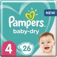 Pampers Baby Dry maat 4 - 26 Luiers