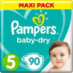 Pampers baby dry grosse 5 90 windeln