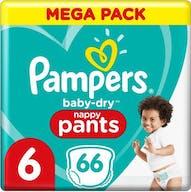 Pampers Baby Dry Höschen Größe 6 - 66 Windelhöschen