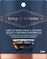 Gillette King C. Rasierklinge Gesicht & Contour