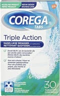 Corega tabs triple action 30 tabletten