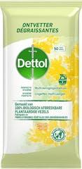 Dettol Hygienische Doekjes Bio Ontvetter 50 doekjes