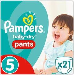 Pampers Baby Dry Pants Große 5 -21 Windelhosen