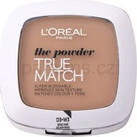 L'Oreal Paris Foundation True Match Powder W3 Golden Beige