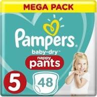 Pampers Baby Dry Pants Maat 5 - 48 Luierbroekjes