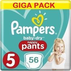 Pampers Baby Dry Pants Maat 5 - 56 Luierbroekjes