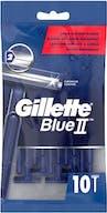 Gillette Blue II Wegwerp Scheermesjes 10 stuks