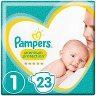 Pampers Premium Protection Windeln Große 1 - 23 Windeln