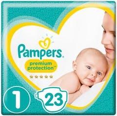 Pampers Premium Protection Große 1 - 23 Windeln