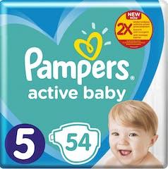 Pampers Active Baby Maat 5 - 54 Luiers