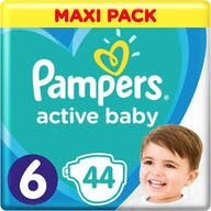 Pampers Active Baby Maat 6 - 44 Luiers