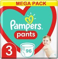 Pampers Pants Maat 3 - 96 Luierbroekjes