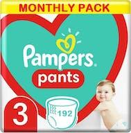 Pampers Pants Maat 3 - 192 Luierbroekjes Maandbox