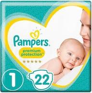 Pampers Premium Protection Windeln Größe 1 - 22 Windeln