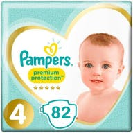 Pampers Premium Protection Maat 4 - 82 Luiers