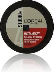 L'Oréal Paris Studio Line Mat Messy 150ml Pot Sponge