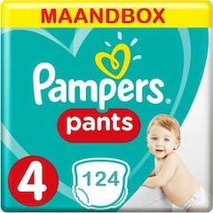Pampers Baby Dry Pants maat 4 - 124 Luierbroekjes Maandbox
