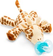 Philips Avent Snuggle Knuffelspeen Ultra Soft Giraf 0-6 Maanden