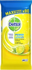 Dettol Reinigingsdoekjes 80 Stuks P&F Citrus