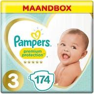 Pampers Premium Protection Windeln Große 3 - 174 Windeln Monatsbox