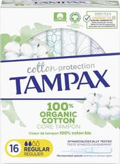 Tampax Tampons Organic Cotton Regular 16 stuks