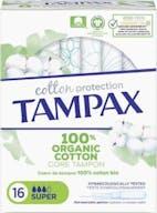 Tampax Tampons Organic Cotton Super 16 stuks