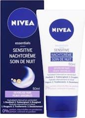Nivea Nachtcrème 50 ml Essentials Sensitive