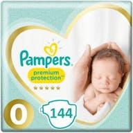 Pampers Premium Protection Windeln Große 0 - 144 Windeln Monatsbox