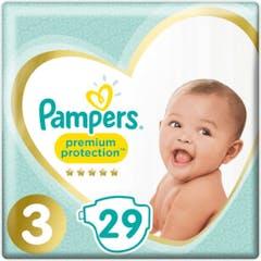 Pampers Premium Protection Maat 3 - 29 Luiers