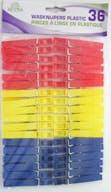 BETRA Wasknijpers Plastic 36 Stuks