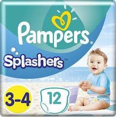 Pampers Splashers Zwemluiers Maat 3/4 - 12 stuks