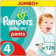 Pampers Baby Dry Pants Maat 4 - 128 Luierbroekjes Voordeelverpakking