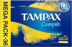 Tampax Tampons Compak Regular 36 stuks
