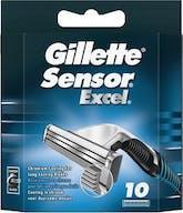 Gillette sensor excel 10 rasierklingen