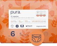Pura Eco-Friendly luiers Maat 6 (15kg+), 105 luiers
