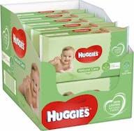 Huggies Babydoekjes Natural Care 10 x 56 Stuks