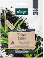 Kneipp Gezichtsmasker Sheet Detox Care
