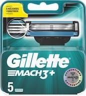 Gillette Mach3+ Scheermesjes 5 Stuks